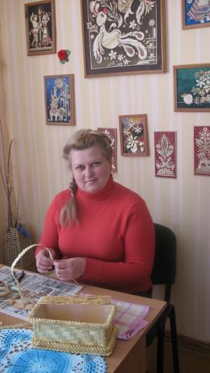 Дырэктар Дома рамёстваў Міраслава Расошка