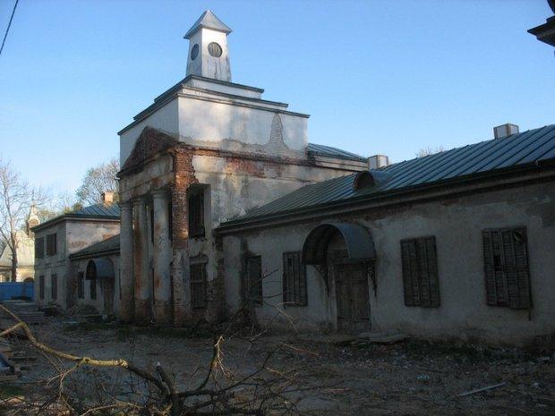 Так усадьба выглядела до реставрации. Фото: smorgon.org