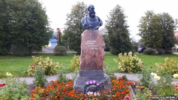 Помнік Багушэвічу ў Жупранах